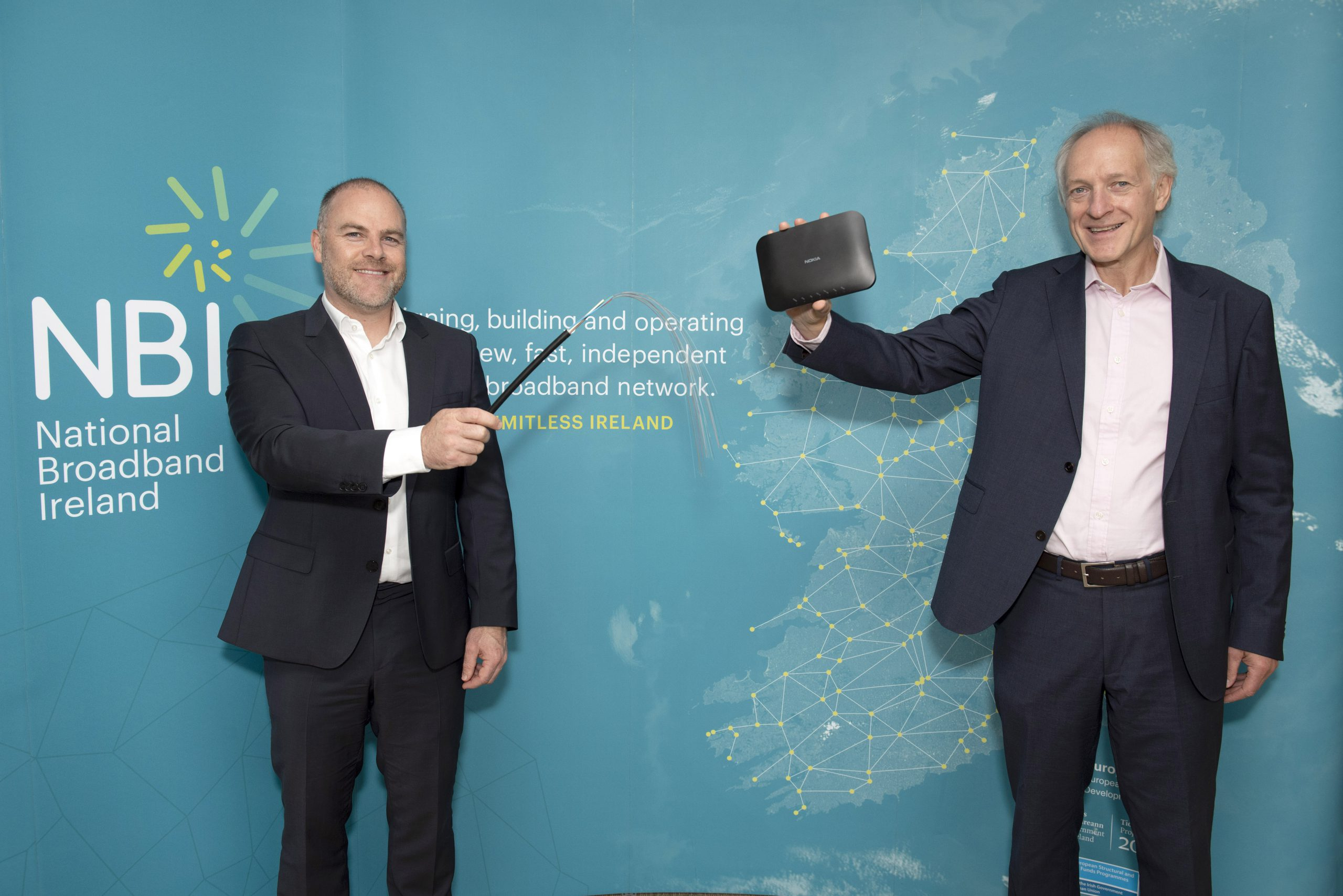 Nokia announced as key supplier to Ireland's National Broadband Plan height=